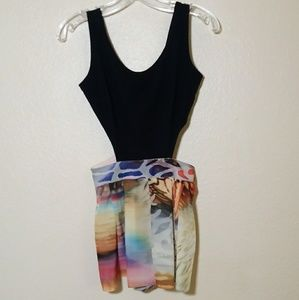 Romper with Side Cut-Outs